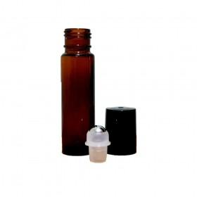 Bioessência Frasco Roll-On de Vidro Âmbar 10ml