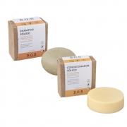 BOB Kit Shampoo e Condicionador Sólidos Naturais Para Cachos