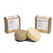 BOB Kit Shampoo e Condicionador Sólidos Naturais Para Cachos 2un