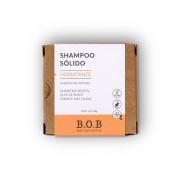 BOB Shampoo Sólido Hidratante Em Barra com Queratina, Buriti e Cedro 75g
