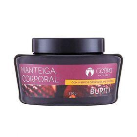 Cativa Natureza Manteiga Corporal Natural de Buriti 250g