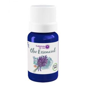 Cristais de Oz Óleo Essencial Puro Natural De Lavanda Francesa 10ml
