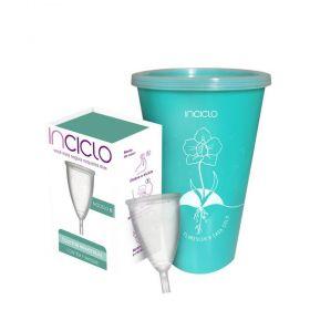 Kit Inciclo Coletor Menstrual Modelo B + Copo Esterilizador