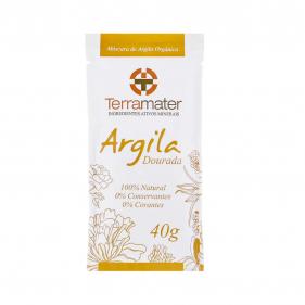 Terramater Argila Dourada 40g
