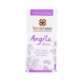 Terramater Argila Roxa 40g
