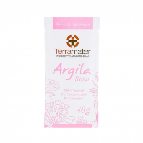 Terramater Argila Rosa 40g