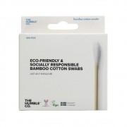 The Humble Hastes Flexíveis de Bambu com Algodão Biodegradável 100un