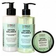 Twoone Onetwo Kit Detox Natural Shampoo + Condicionador + Máscara
