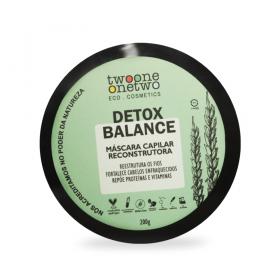 Twoone Onetwo Máscara Capilar Fortalecedora Detox Balance 200g