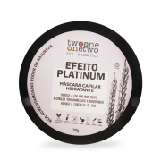 Twoone Onetwo Máscara Matizadora Efeito Platinum 200g