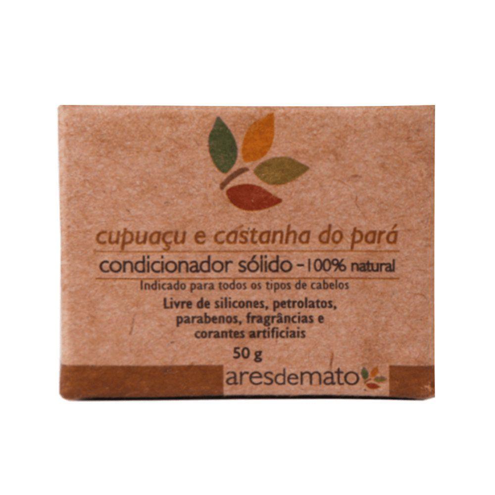 Ares de Mato Kit Natural Cabelos Normais e Oleosos Shampoo e Condicionador Sólido