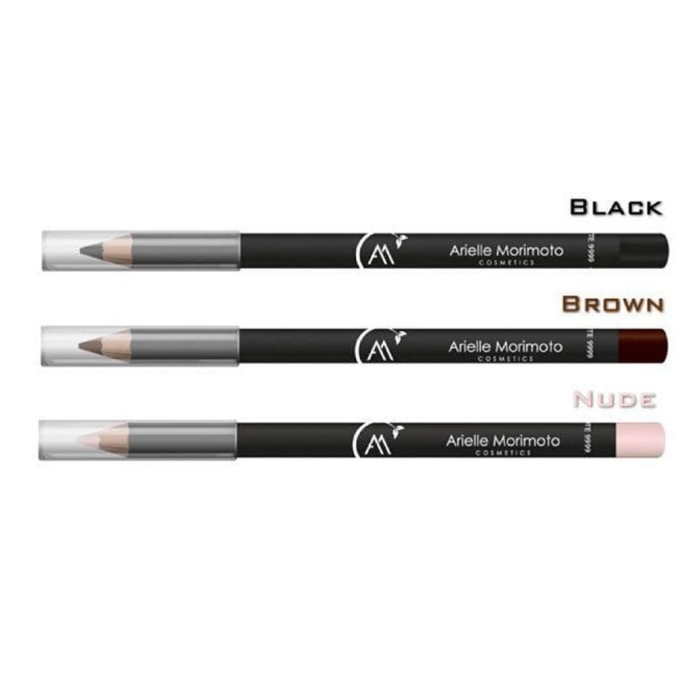 Arielle Morimoto Lápis De Olho Vegano Black Preto 1,1g