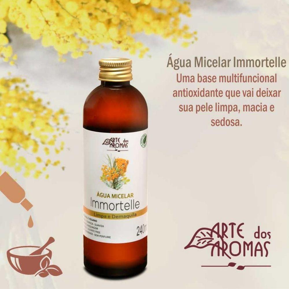 Arte dos Aromas Água Micelar Natural Immortelle 240ml