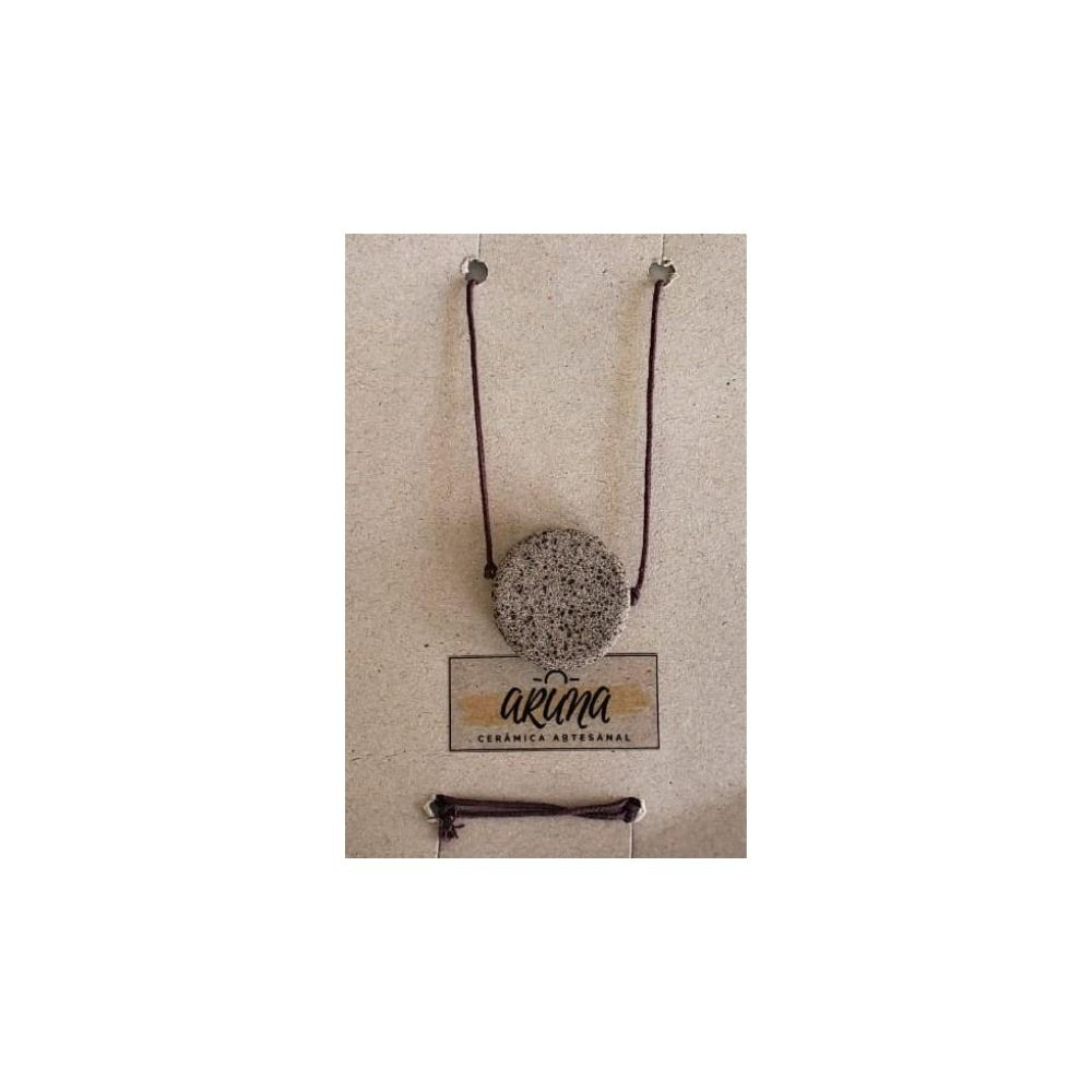 Aruna Colar Difusor Aromatizador Pessoal de Medalha 1un