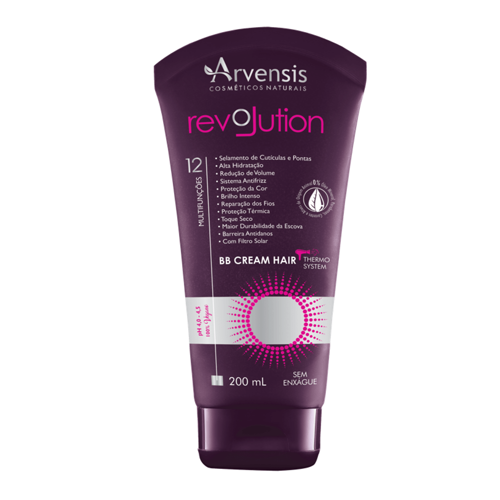 Arvensis BB Cream Hair Revolution Multifunções 200ml