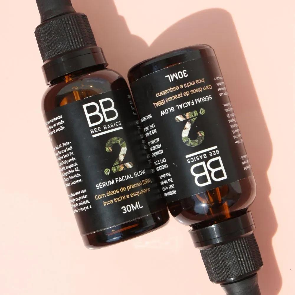 Bee Basics Sérum Facial Glow Natural com Esqualano 30ml
