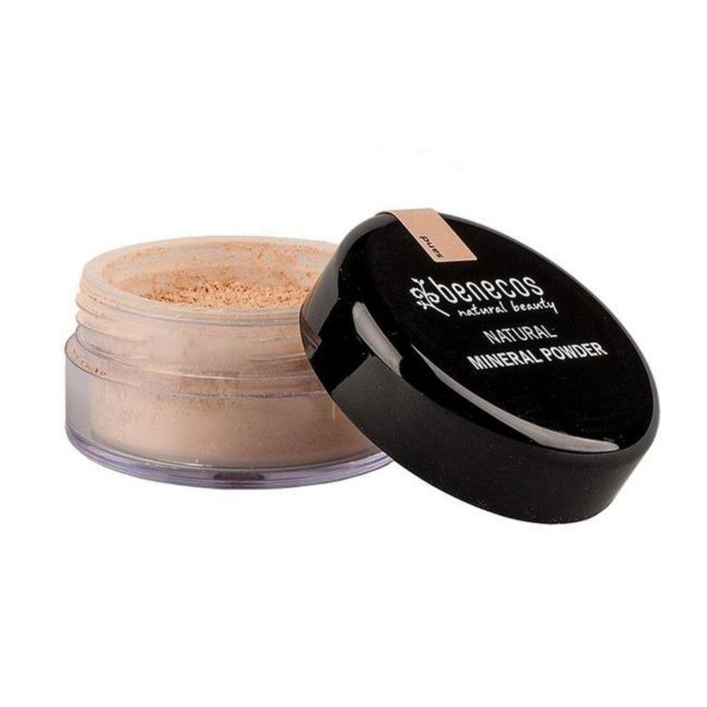 Benecos Pó Facial Natural Mineral Solto Sand 10g