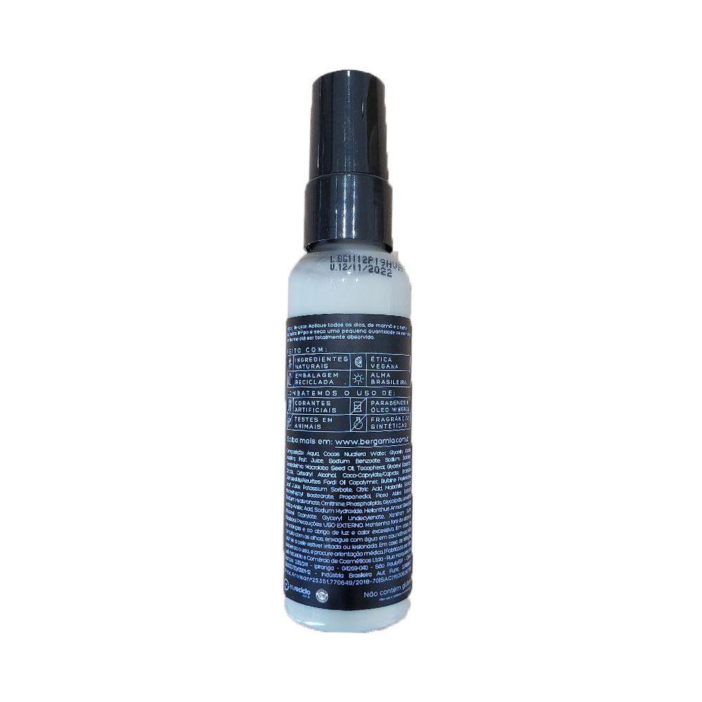Bergamia Hidratante Antirrugas De Pracaxi E Malaquita Para Área dos Olhos e Lábios 60g