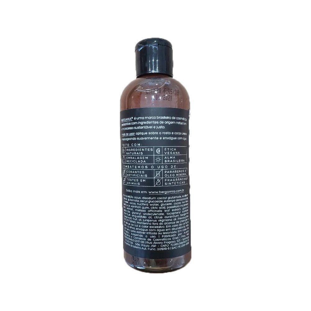 Bergamia Sabonete Líquido de Açaí e Coco 140ml