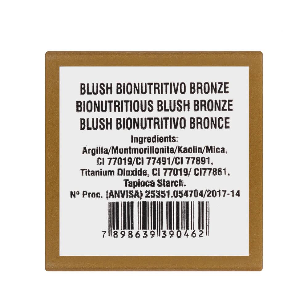 Bioart Blush Facial Natural Bionutritivo Bronze 4g