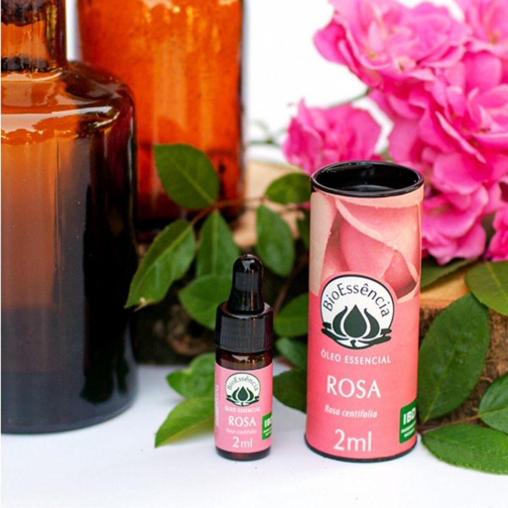 BioEssência Óleo Essencial Natural de Rosa Marroquina 2ml