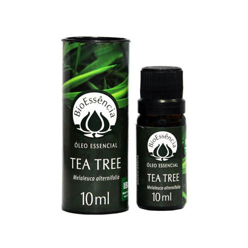 BioEssência Óleo Essencial Natural de Tea Tree Melaleuca 10ml