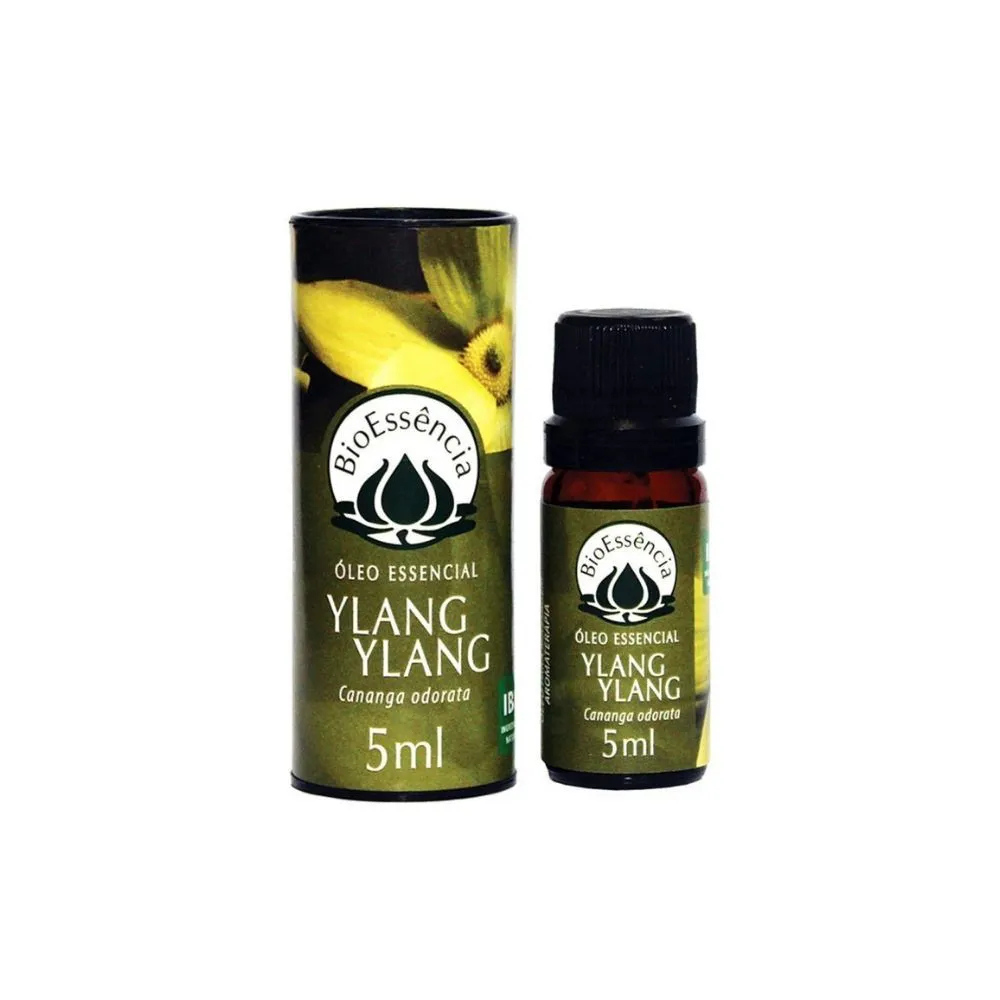 BioEssência Óleo Essencial Natural de Ylang Ylang 5ml