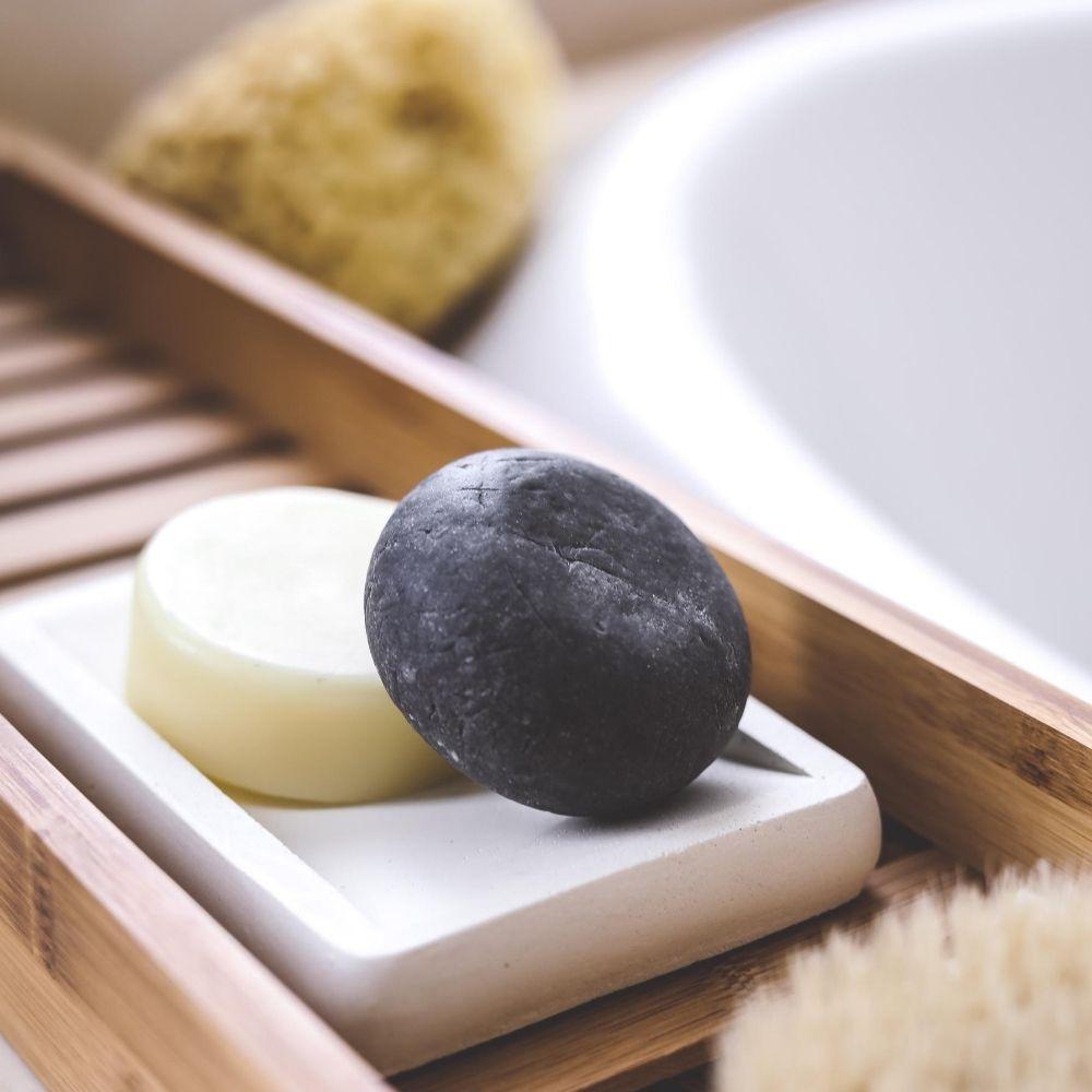BOB Kit Shampoo Sólido Detox + Condicionador Sólido Hidratação Profunda 2un