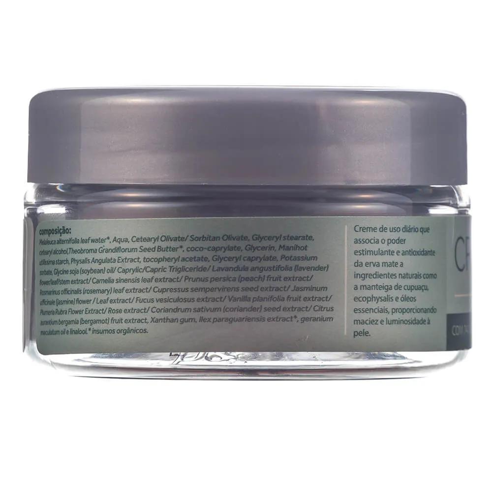 Cativa Natureza Creme Hidratante Facial Natural Erva Mate 60g
