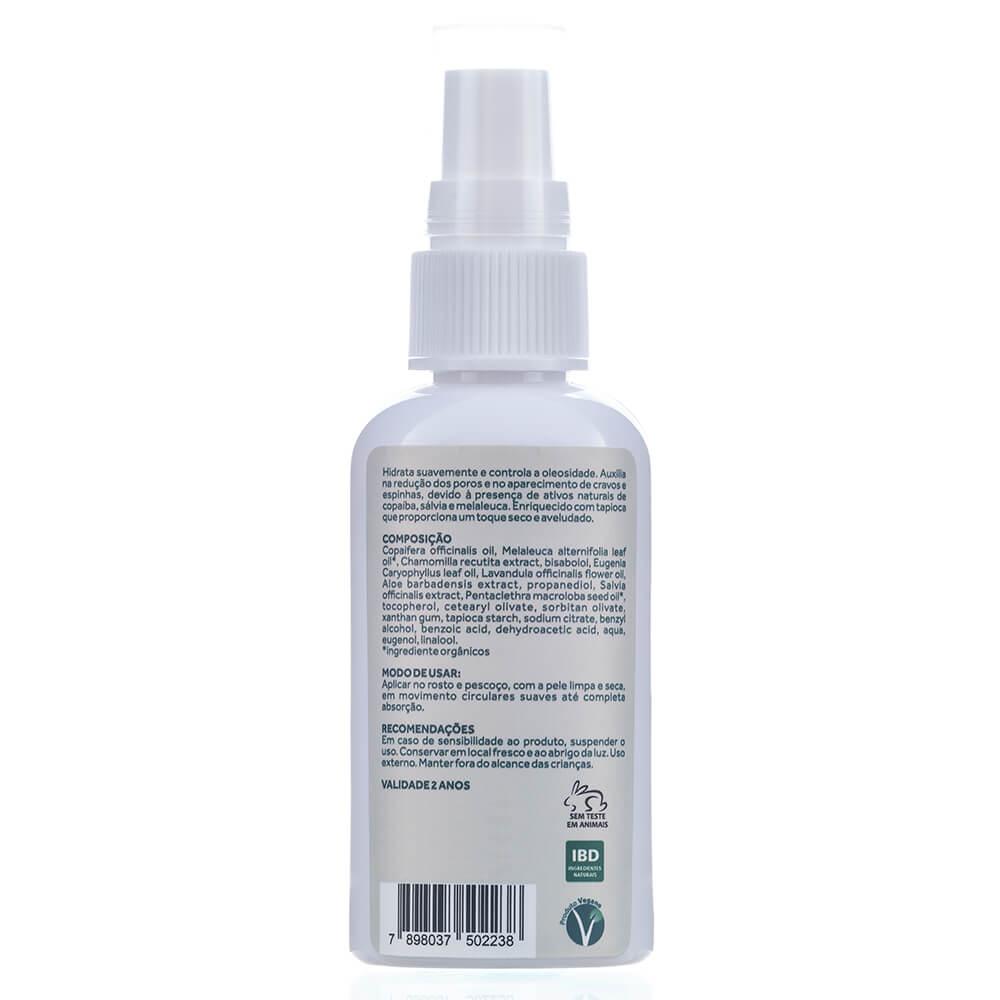 Cativa Natureza Creme Hidratante Facial Natural Pele Oleosa 60g