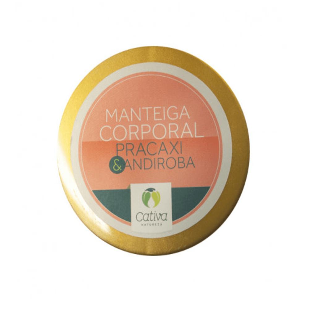 Cativa Natureza Manteiga Corporal  Natural de Pracaxi e Andiroba 250g