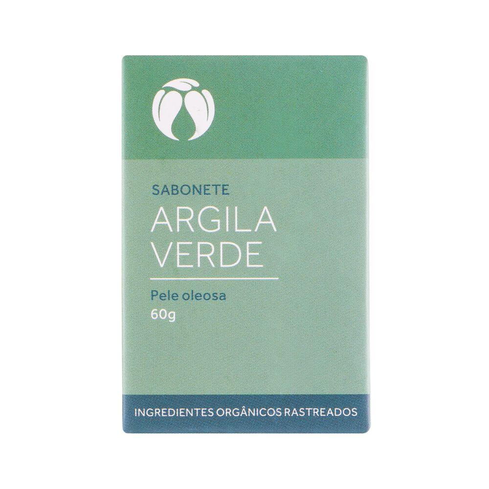 Cativa Natureza Sabonete Argila Verde Natural Pele Oleosa 60g