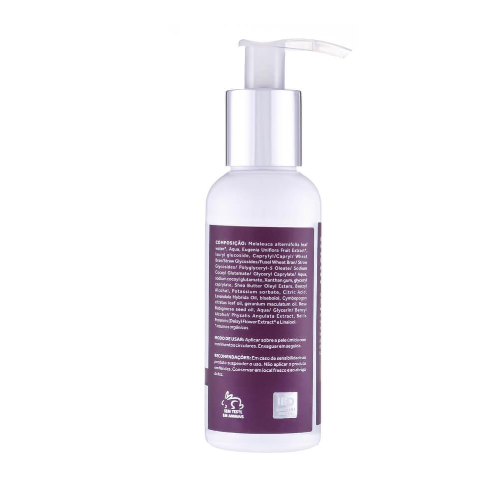 Cativa  Natureza Sabonete Líquido Natural e Vegano Facial Flor da Noite 80 g