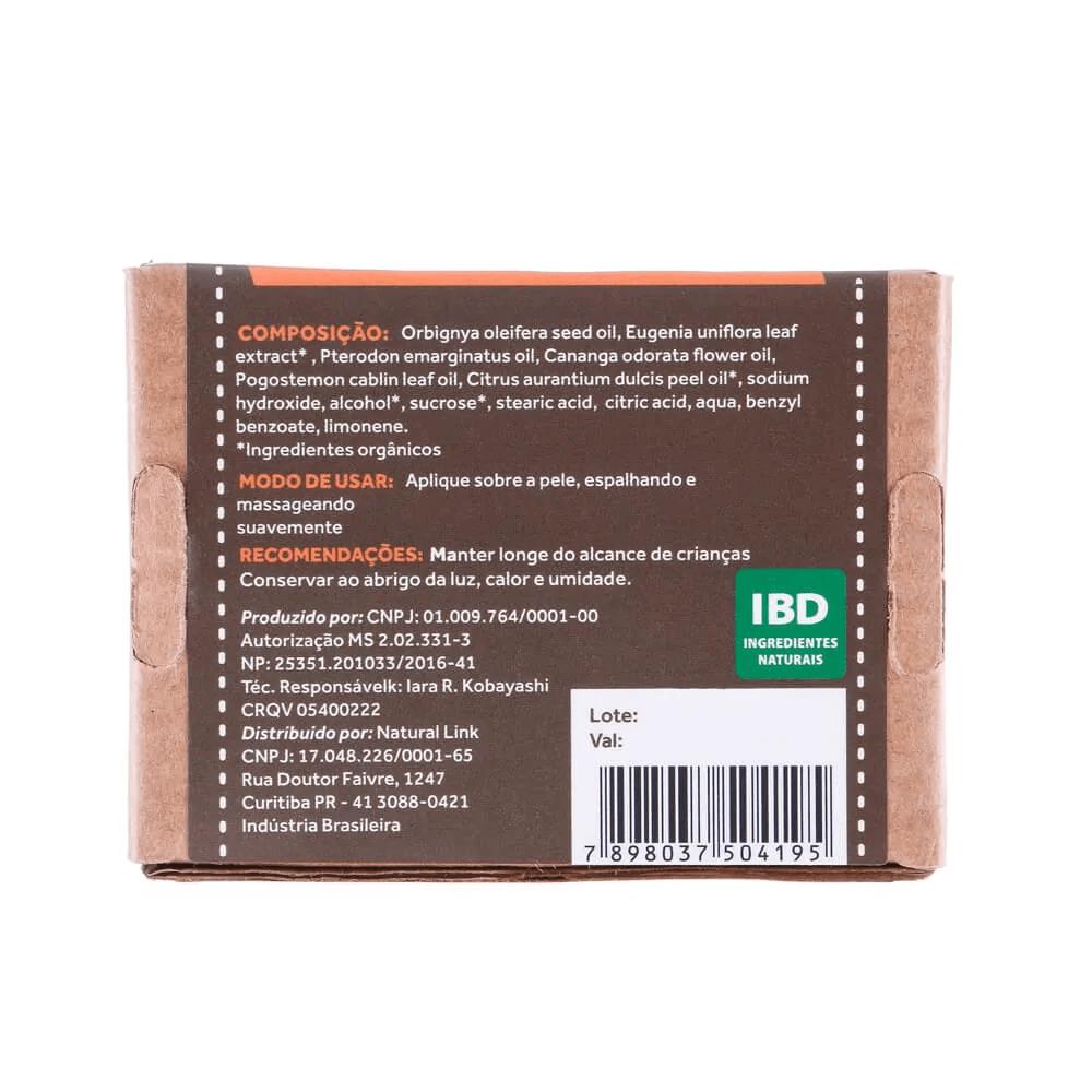 Cativa Natureza Sabonete Natural Orgânico Vegano de Pitanga 100g
