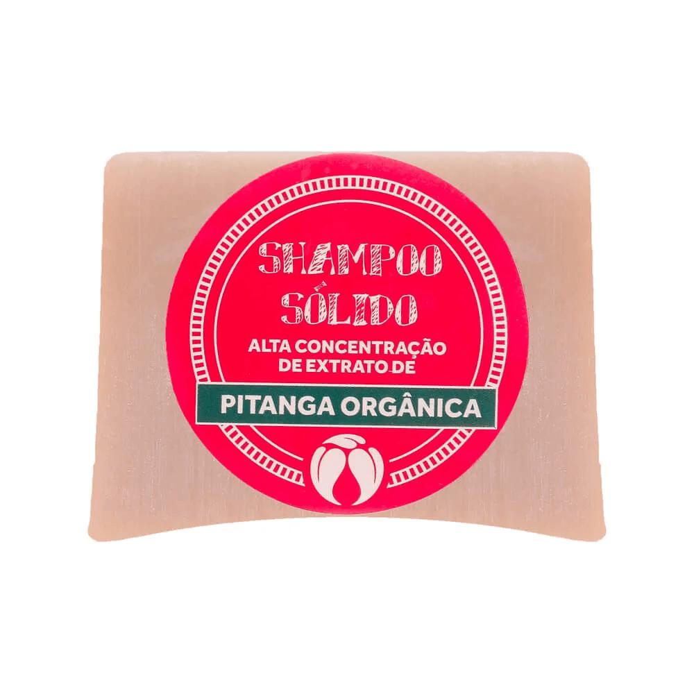 Cativa Natureza Shampoo Sólido Natural de Pitanga 100g