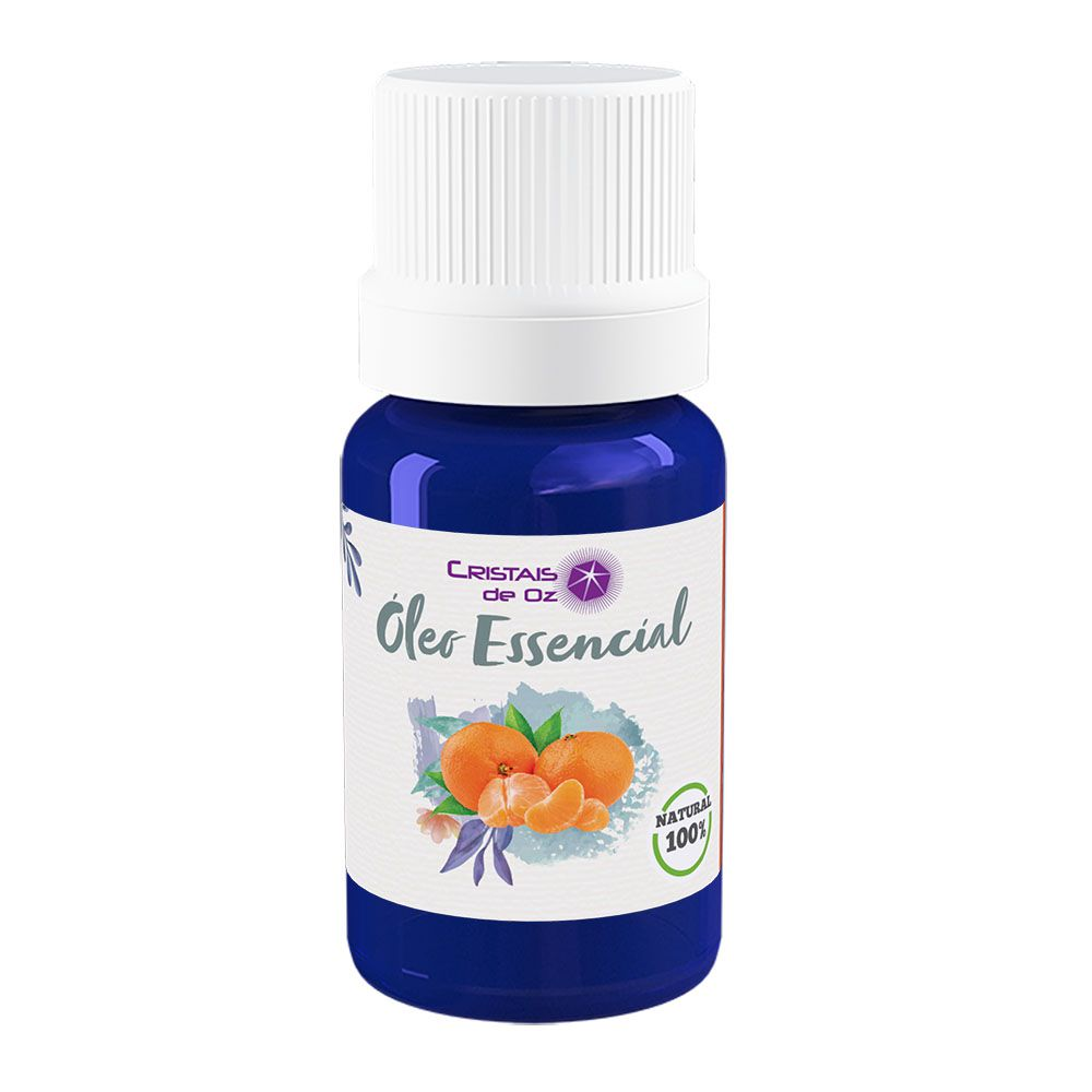Cristais de Oz Óleo Essencial Puro Natural De Tea Tree (Melaleuca) 10ml