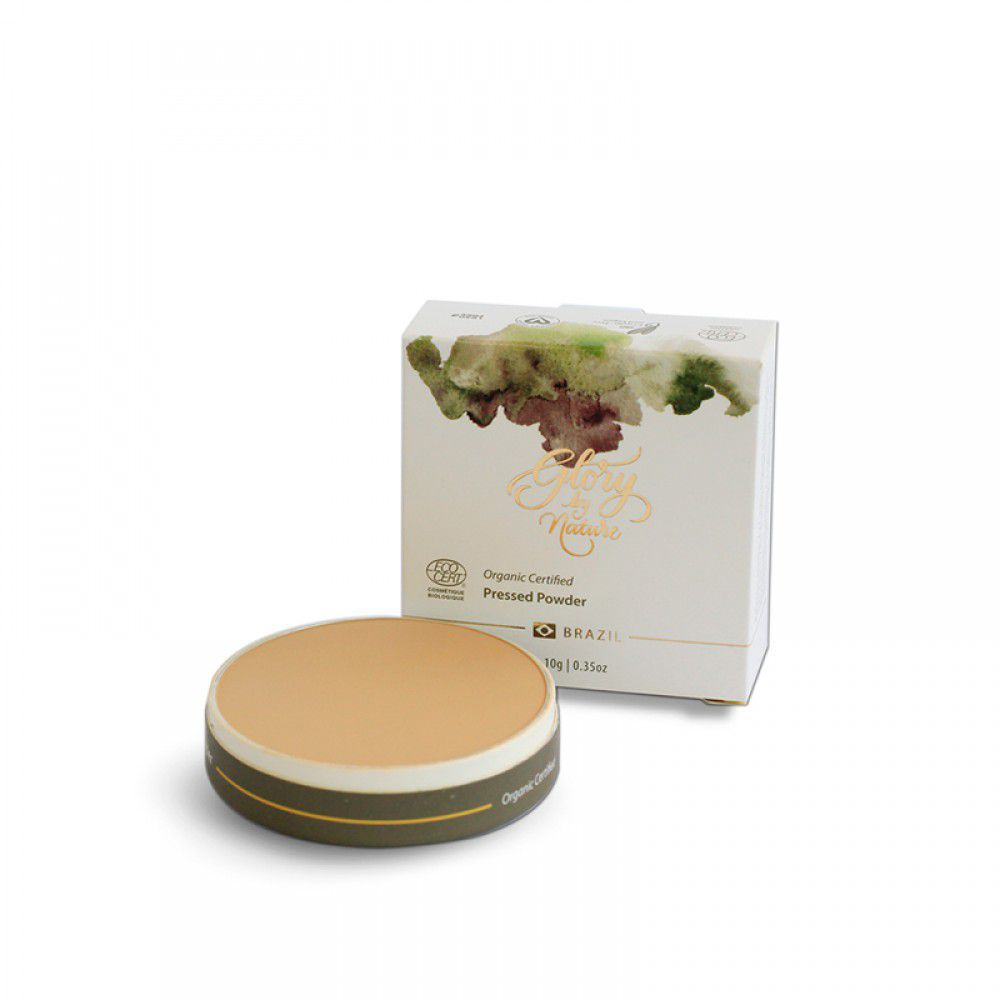Glory By Nature Pó Compacto 376 Beige 10g