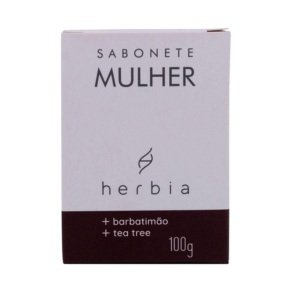 Herbia Sabonete Íntimo Natural de Barbatimão e Tea Tree 100g