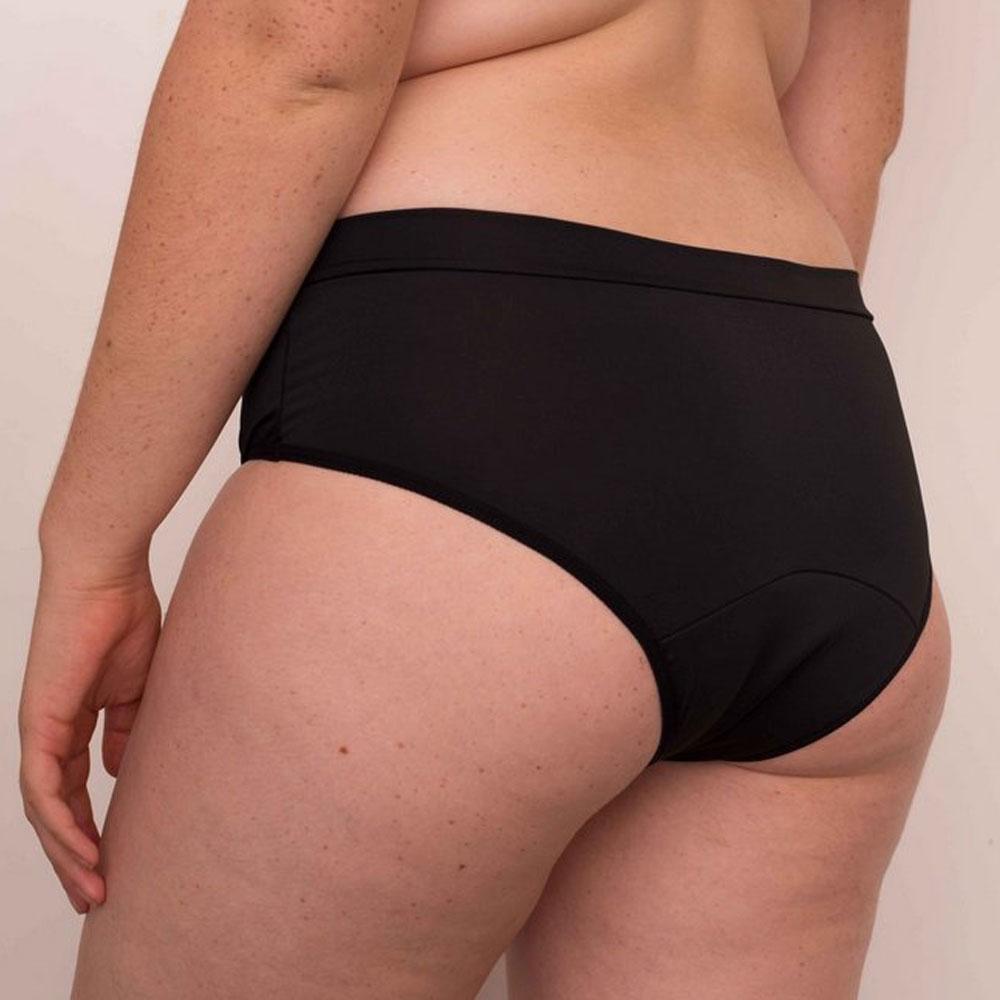 Inciclo Calcinha Absorvente Menstrual Clássica Basiquinha Preta 1un