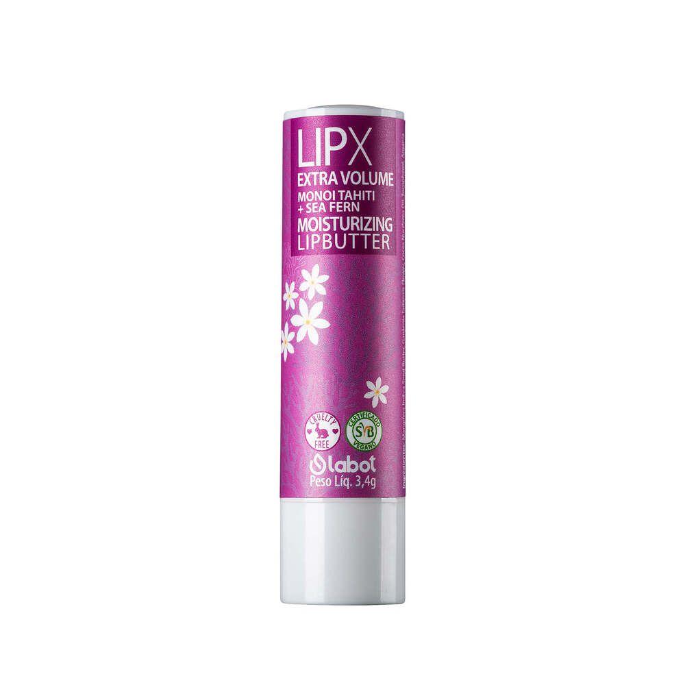 Labot Protetor e Hidratante Labial Natural LipX Extra Volume Moisturizing Lipbutter 3,8g