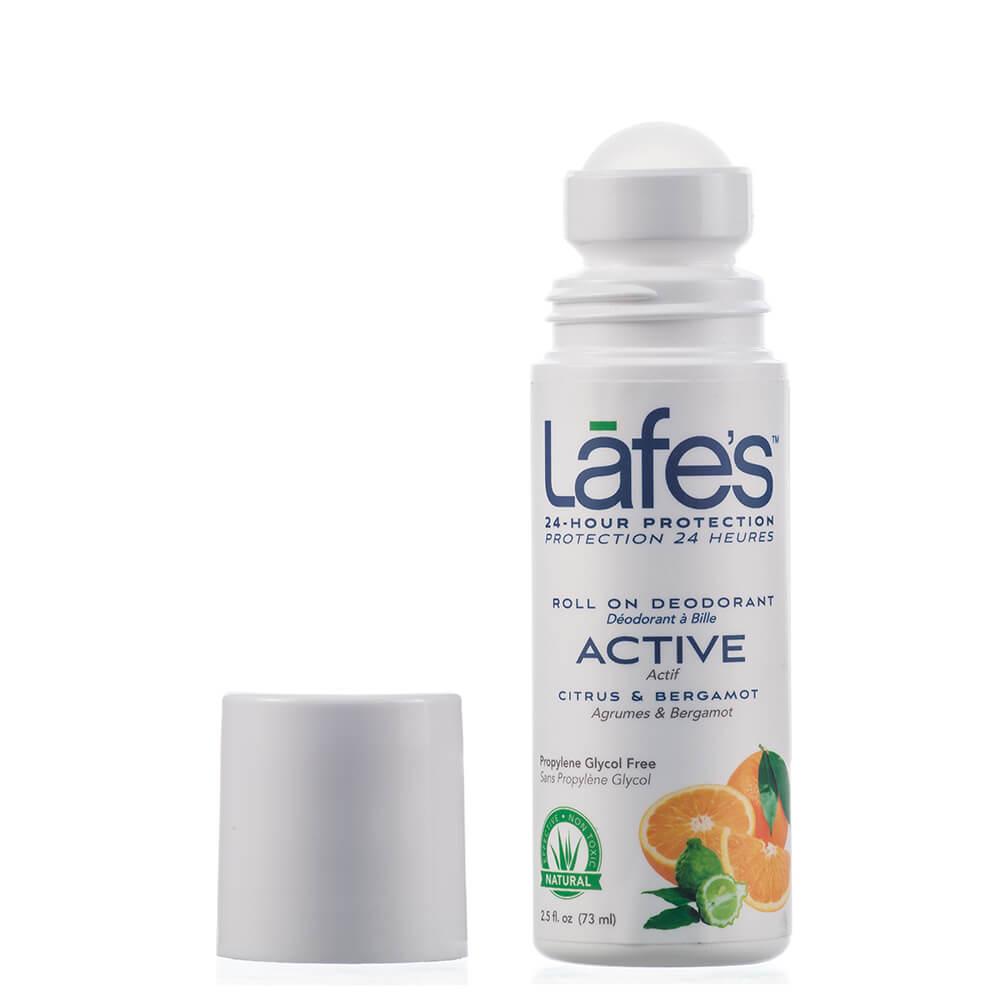 Lafe's Desodorante Roll-on Active Citrus e Bergamota 73ml
