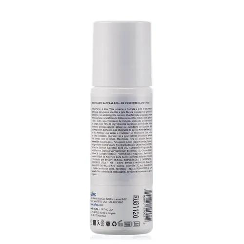 Lafe's Desodorante Roll-on Unscented Sem Perfume 73ml