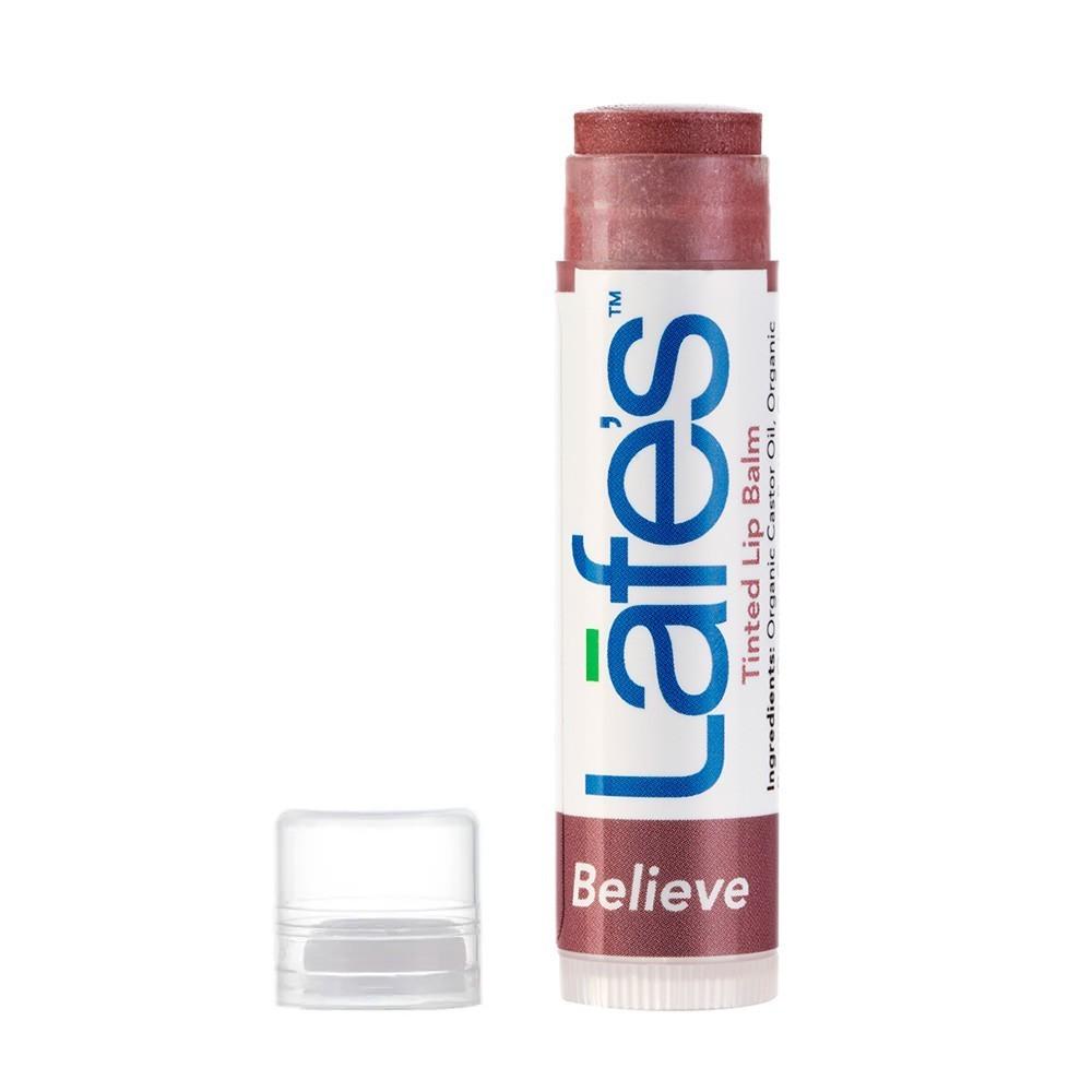Lafe's Tinted Lip Balm Hidratante Labial Natural Com Cor Believe 4,25g