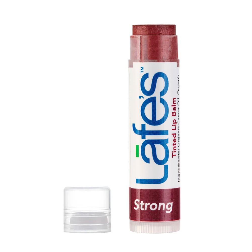 Lafe's Tinted Lip Balm Hidratante Labial Natural Com Cor Strong 4,25g