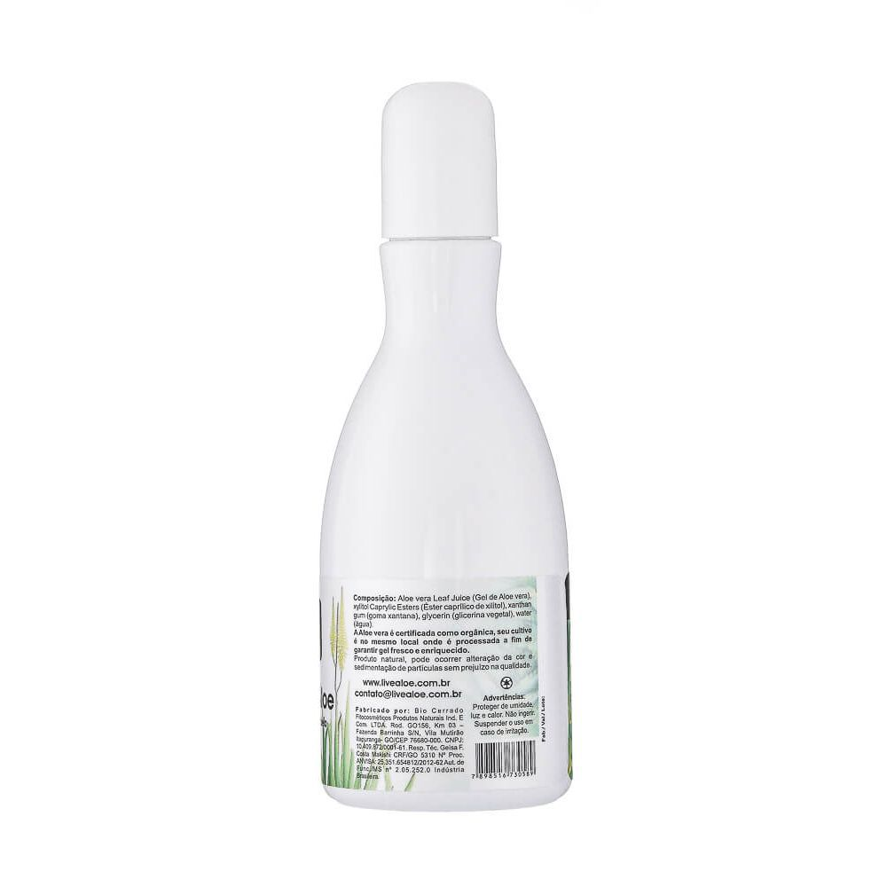 Livealoe Puro Gel Multifuncional Natural de Aloe 210ml