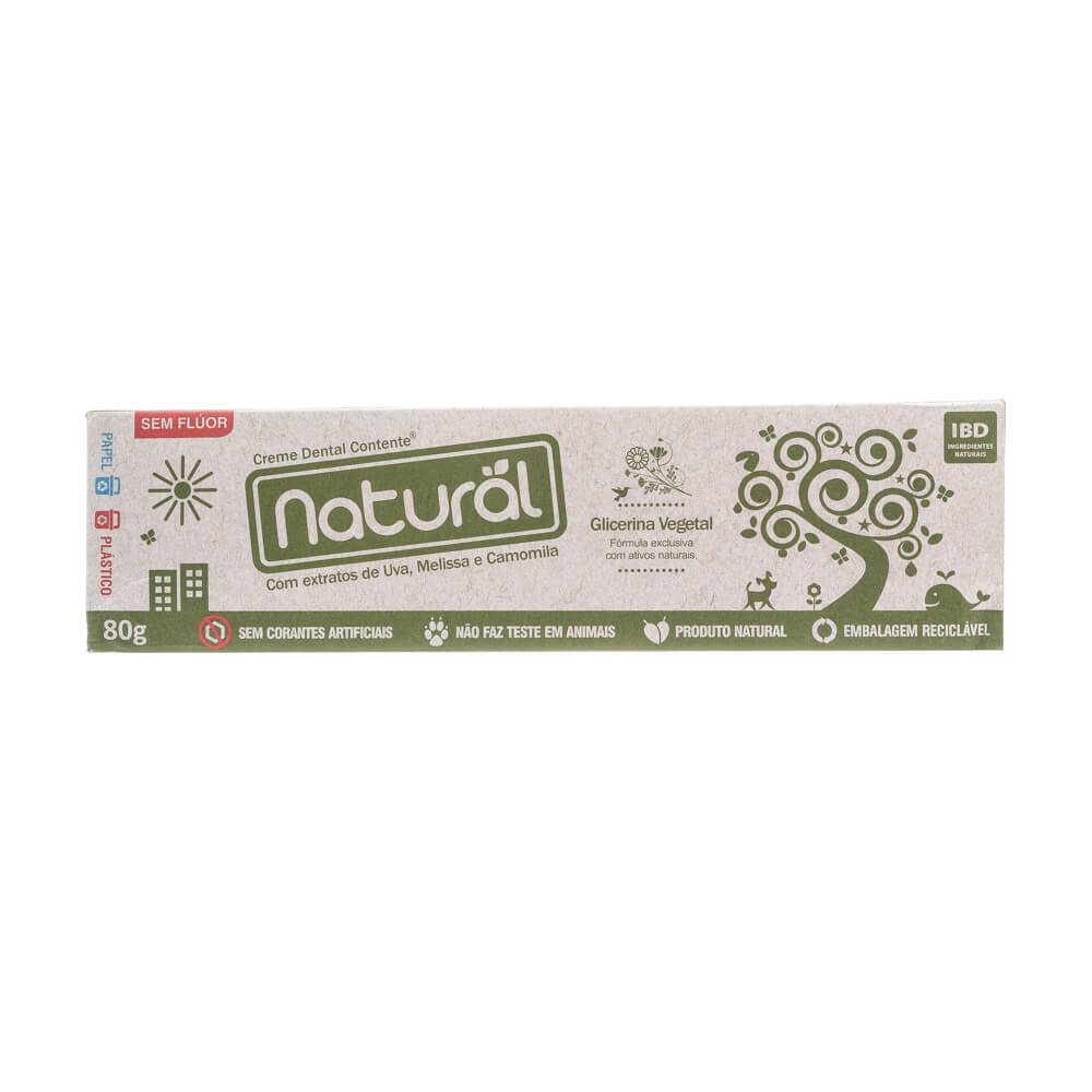 Orgânico Natural Pasta Dental Natural Contente Camomila 80g