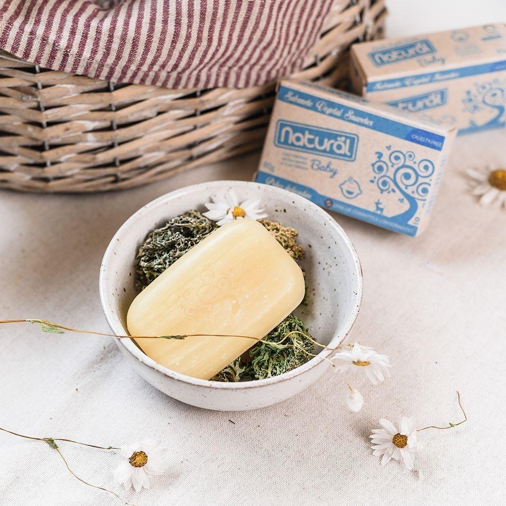 Orgânico Natural Sabonete Baby Camomila e Erva Cidreira 80g