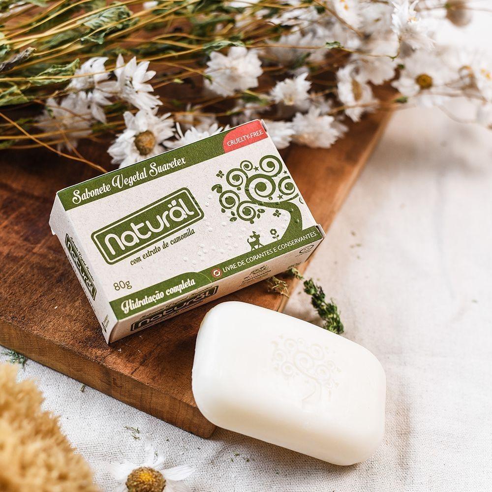 Orgânico Natural Sabonete Vegetal Camomila 80g