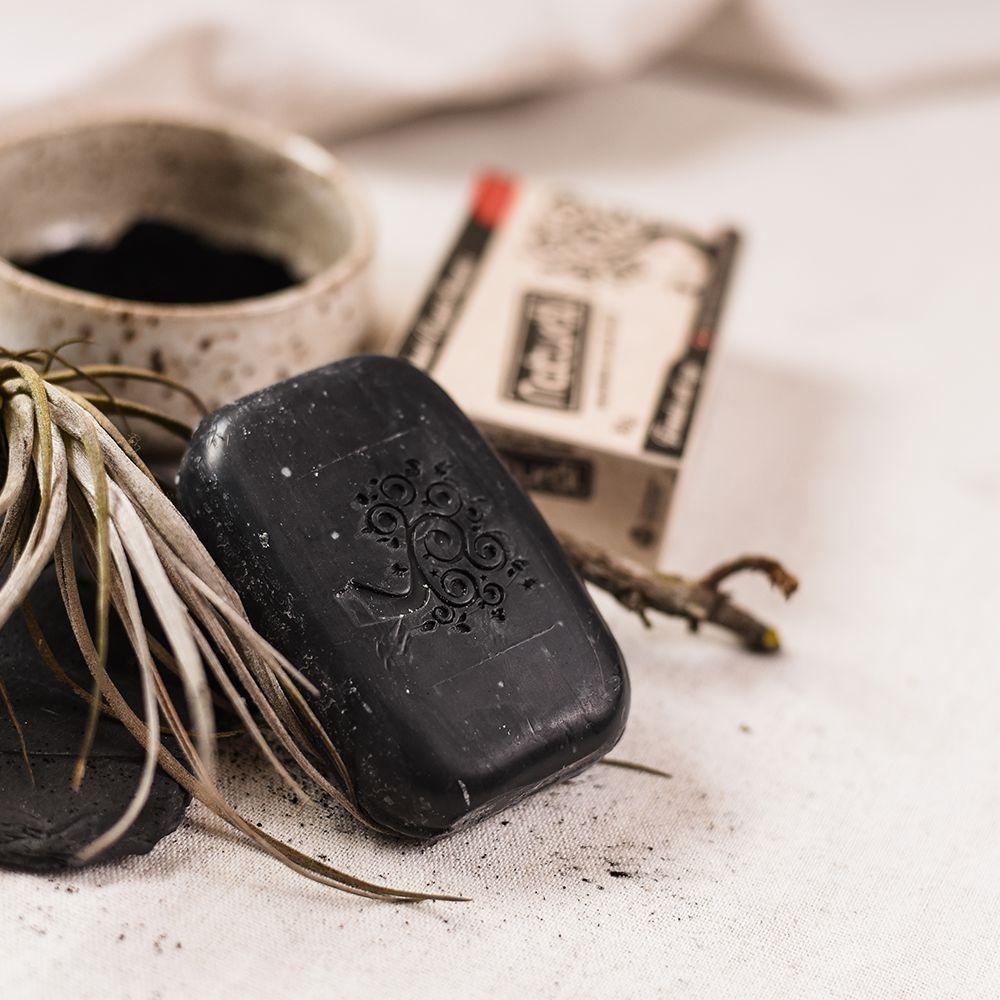 Orgânico Natural Sabonete Vegetal Carvão Ativado 80g