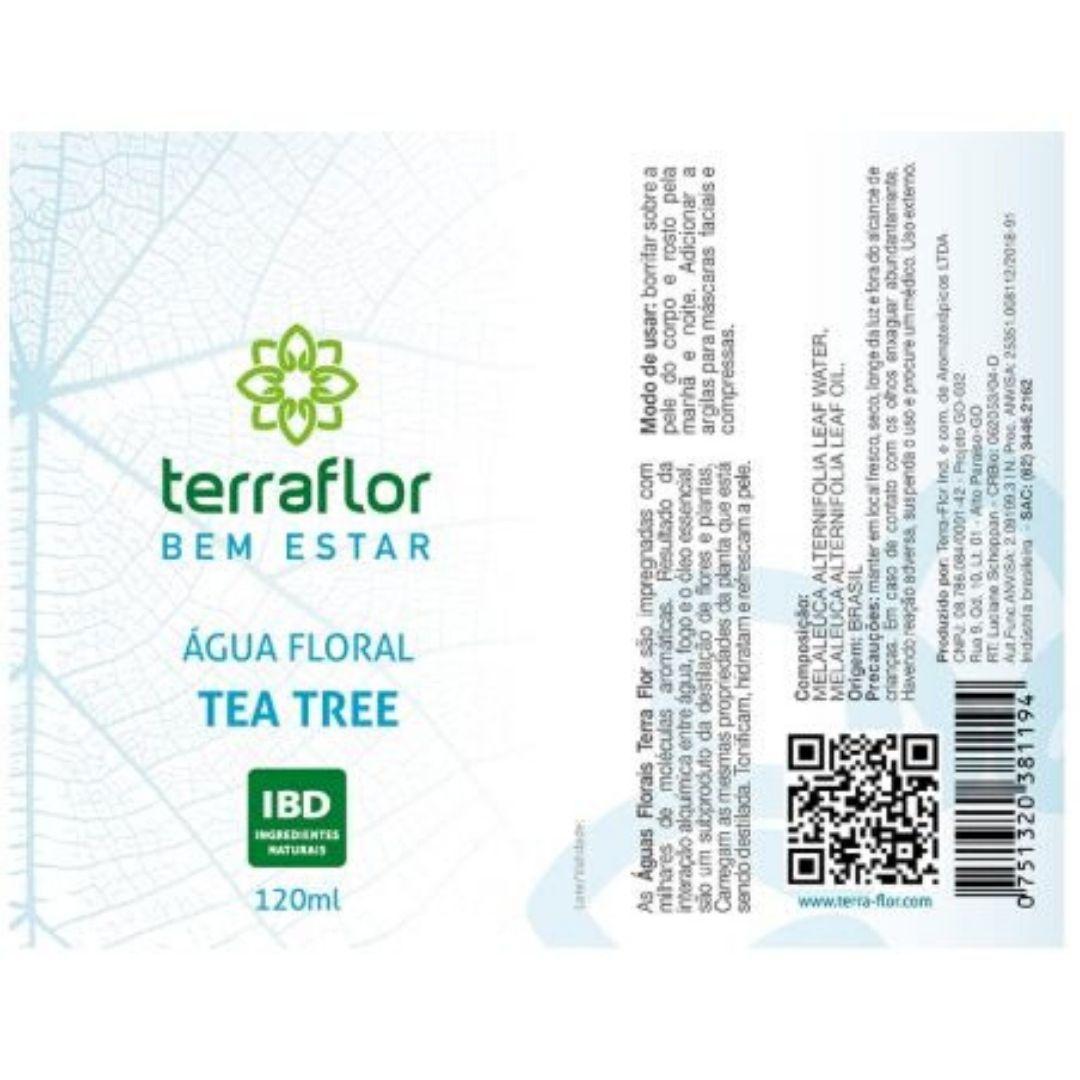 Terra Flor Água Floral de Tea Tree 120ml